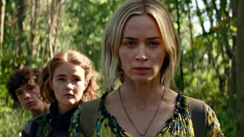 We get to see Emily Blunt in her fight for survival with her family once again.