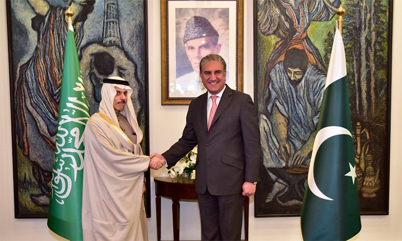 Newly appointed Saudi foreign minister arrives in Pakistan on one-day visit