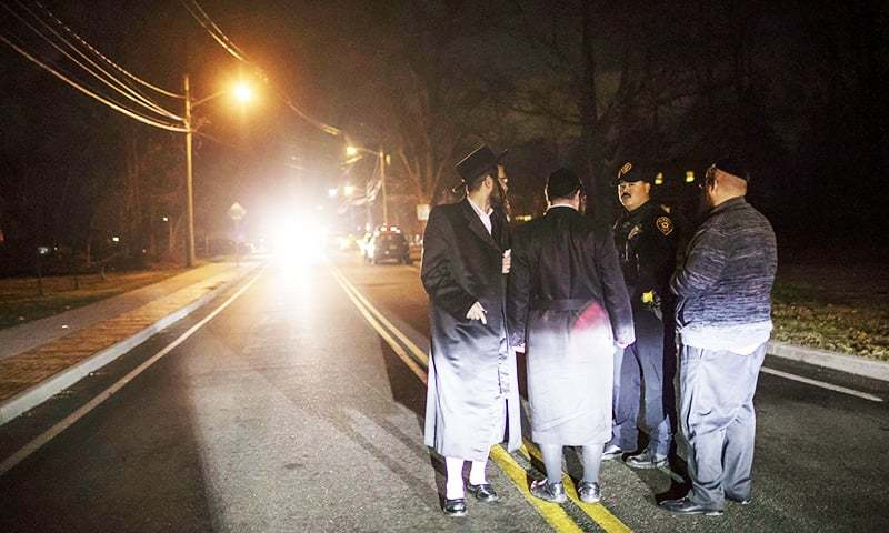 5 wounded in stabbing at New York rabbi's house