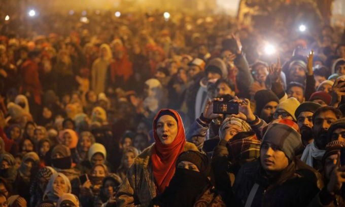 India celebrates New Year's Eve with protests against citizenship law