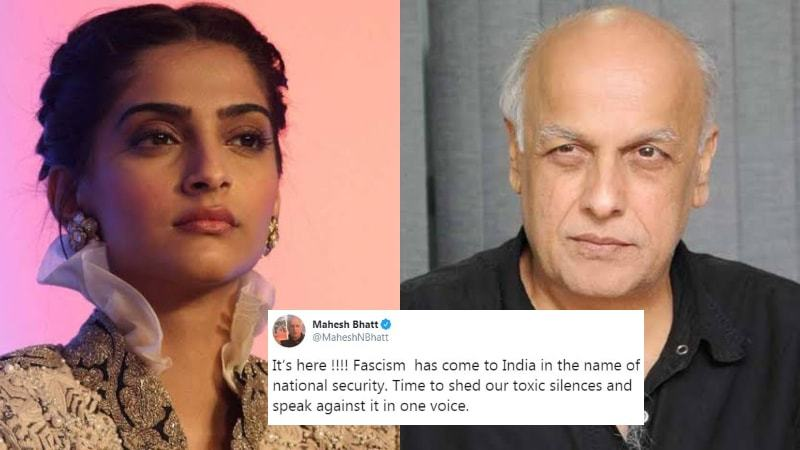 Several like Sonam Kapoor and Mahesh Bhatt took to Twitter to condemn the attack and lend their support to the students.