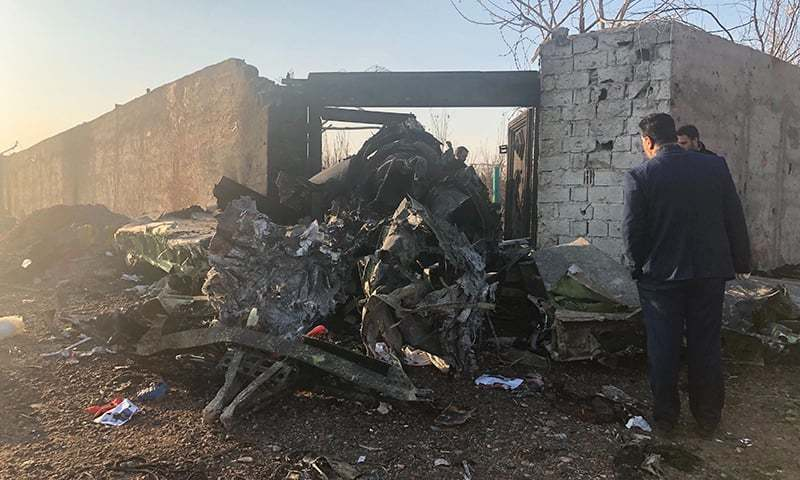 All on board killed as Ukrainian airplane crashes in Iran