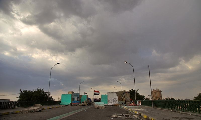 Two rockets fall inside Baghdad's Green Zone