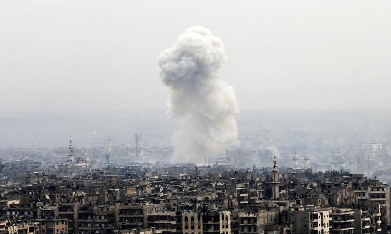 Unidentified planes hit Iran-backed Iraqi militiamen in Syria, killing 8