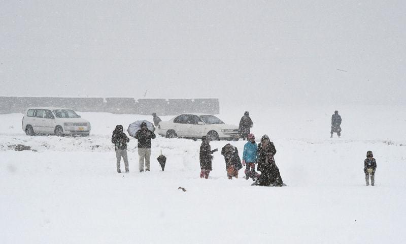 Image result for Dozens Dead as Heavy Snowfall Wreak Havoc in Pakistan