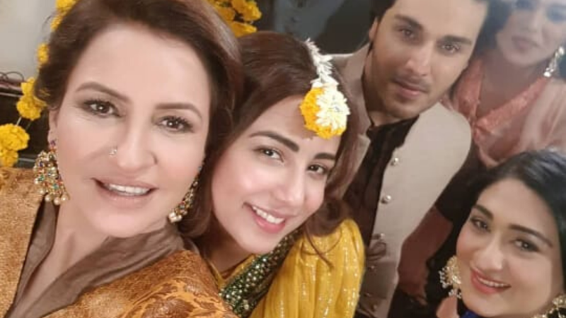 Last week, Saba Faisal shared some pictures on Instagram and it really does look like a family affair.