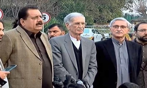 Harried PTI moves to appease disgruntled allies