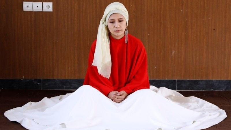 Fahima Mirzaie hopes the sufi dance called Sama will help students combat depression and find inner peace in Afghanistan
