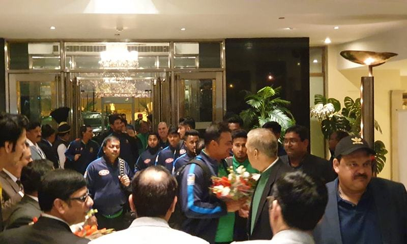 Bangladesh cricket team arrives in Lahore