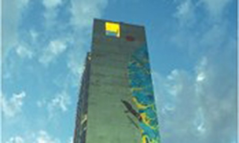 Mural said to be world's tallest unveiled in Karachi