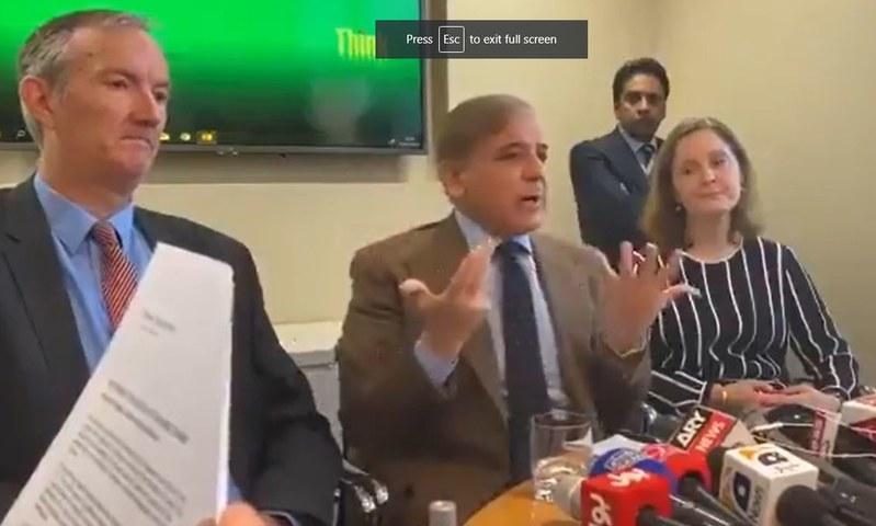 Shehbaz files defamation suit against UK publications, journalist David Rose over 2019 article