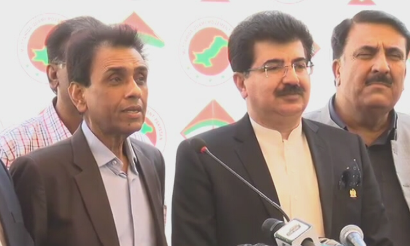 Senate chairman asks MQM-P convener to think about returning to the federal cabinet