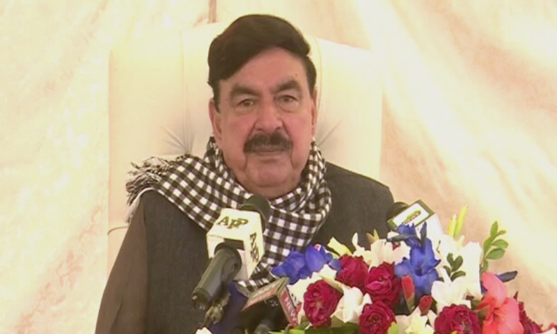 Sheikh Rashid meets Sindh CM today for removal of encroachments on KCR tracks