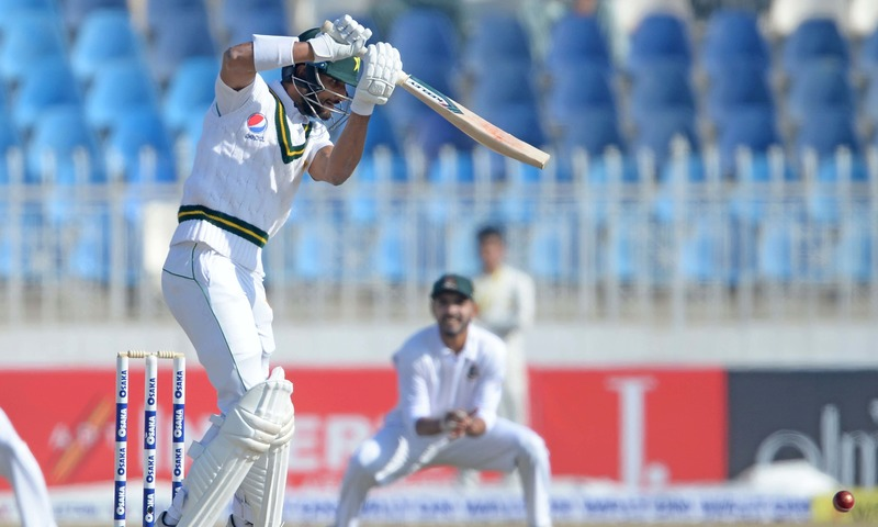 Pakistan trail Bangladesh by 27 runs on day two of 1st Test