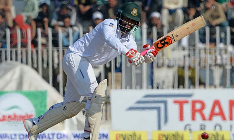 Naseem breaks hat trick record as Bangladesh face defeat in first Test