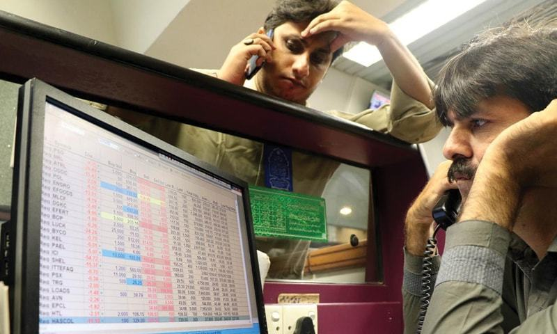 Shares sink below 40,000 mark as inflation, coronavirus take toll on investor sentiment
