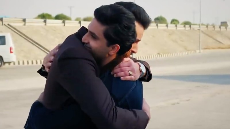 Shahzain and Saad's reunion was an unexpected gift this episode