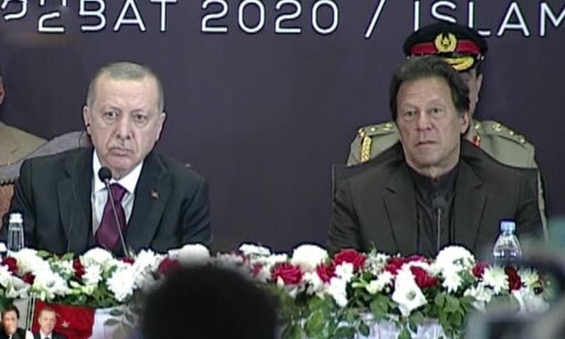 'Turkey ready to work on CPEC projects,' says President Erdogan alongside PM Imran