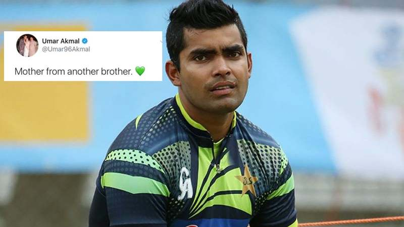 Instead of brother from another mother, the cricketer referred to Abdul Razzaq as mother from another brother.