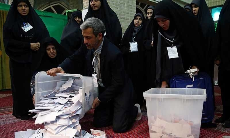 Iran records lowest turnout  in elections since 1979