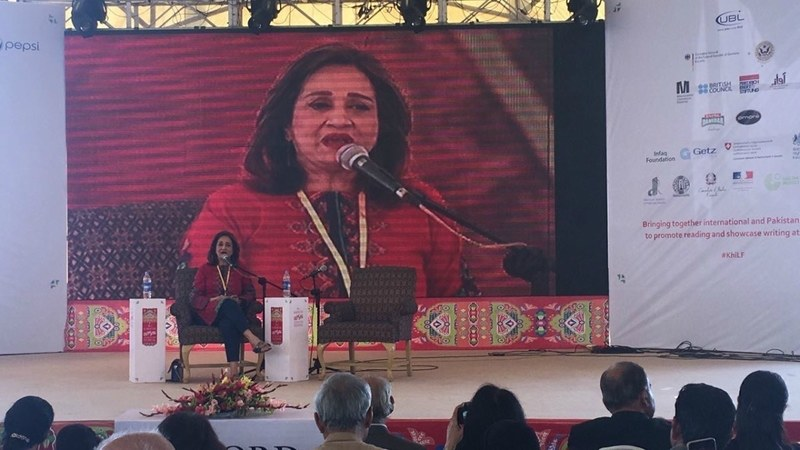 Bushra Ansari at 2017 KLF