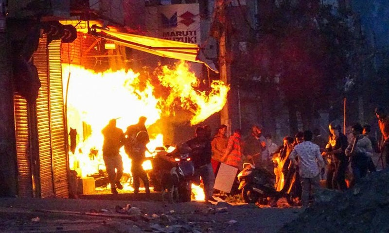Comment: Three days of violent attacks in Delhi could not take place without state sanction