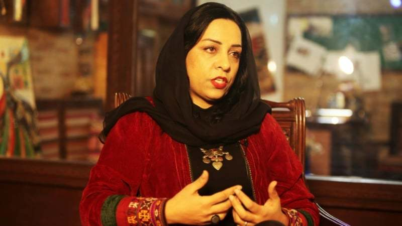 For a generation, filmmaker Roya Sadat has been a voice for Afghan women