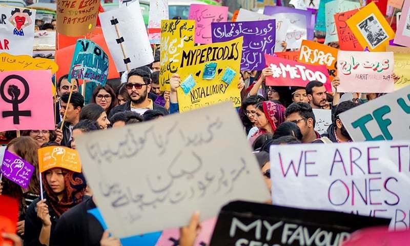 Some senators condemn Khalil-ur-Rehman's misogynistic remarks, others demand probe of Aurat March