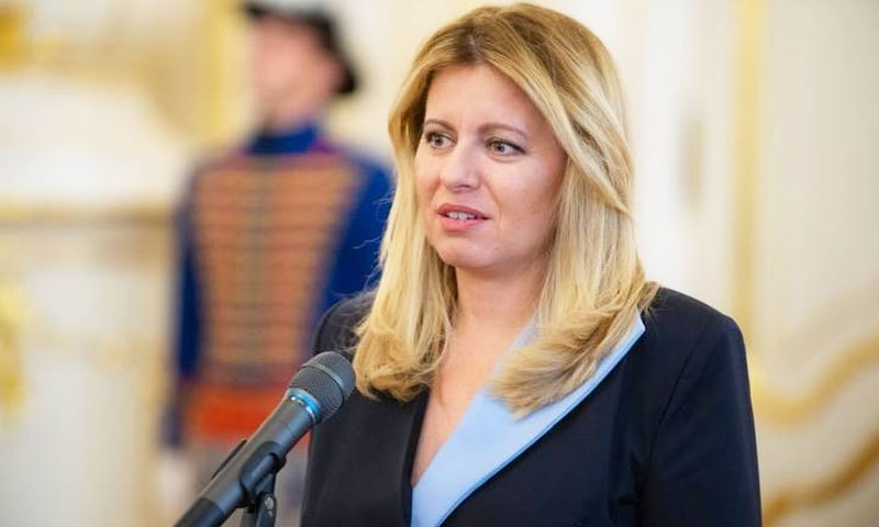 زوزانے اپریل 2019 میں صدر بنی تھیں—فوٹو: سلوونسکو آن لائن