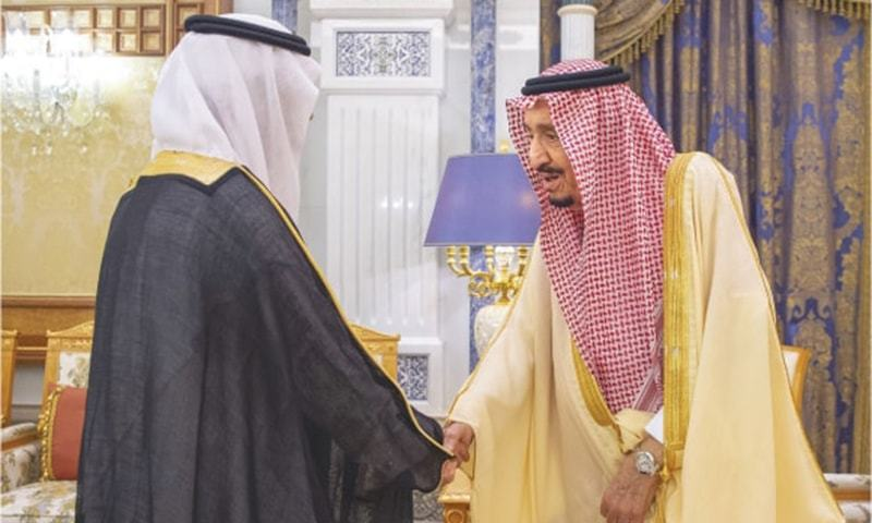 Riyadh releases king's photos after purge over 'coup plot'