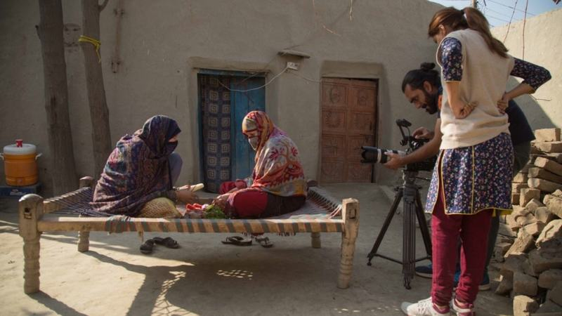 Released by Refinery29, it's the first time an all Pakistan crew has created a global series