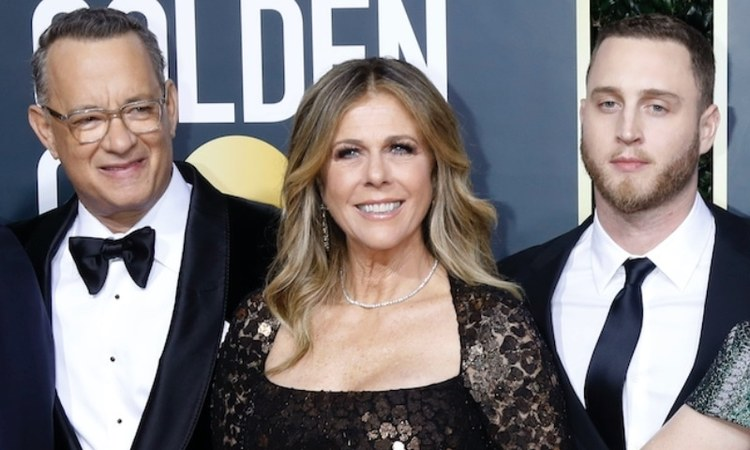 Hanks and his wife announced that they had tested positive for the COVID-19 virus via social media Wednesday night.