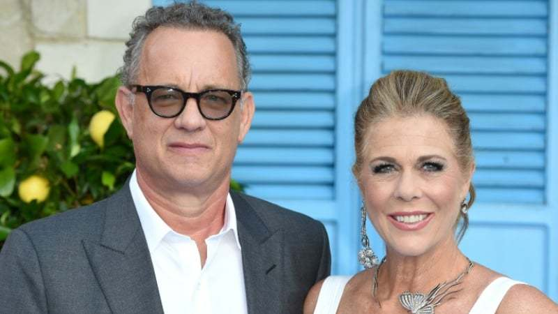 The actor, along with wife Rita Wilson, was diagnosed with the virus in Australia.