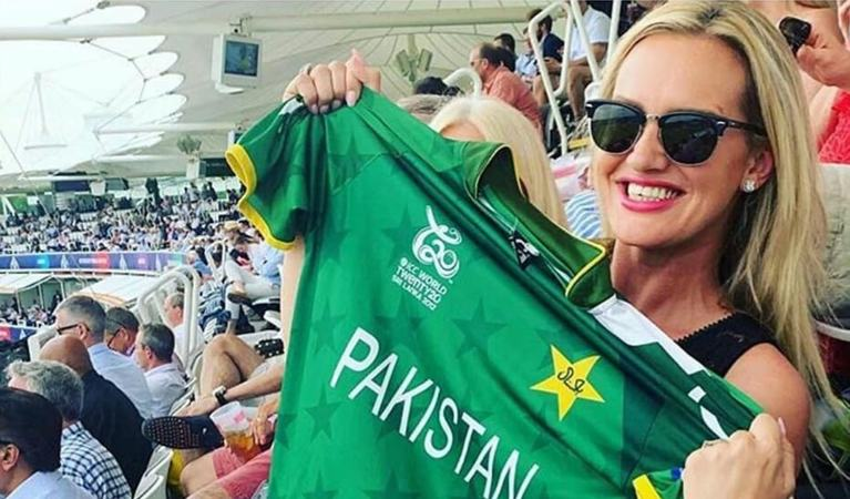 """""""Love hearing you call my name,"""" she wrote after she had the entire stadium chanting for her at a recent PSL match."""