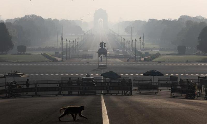 دہلی بھی مکمل طور پر بند رہا—فوٹو: رائٹرز