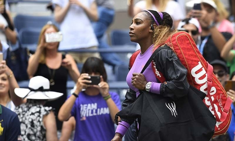 Social distancing has Serena 'on edge'