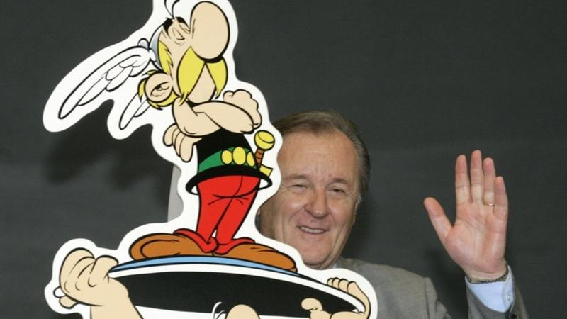 Uderzo initially illustrated the comic, created along with writer Rene Goscinny. The duo created 24 comic books.