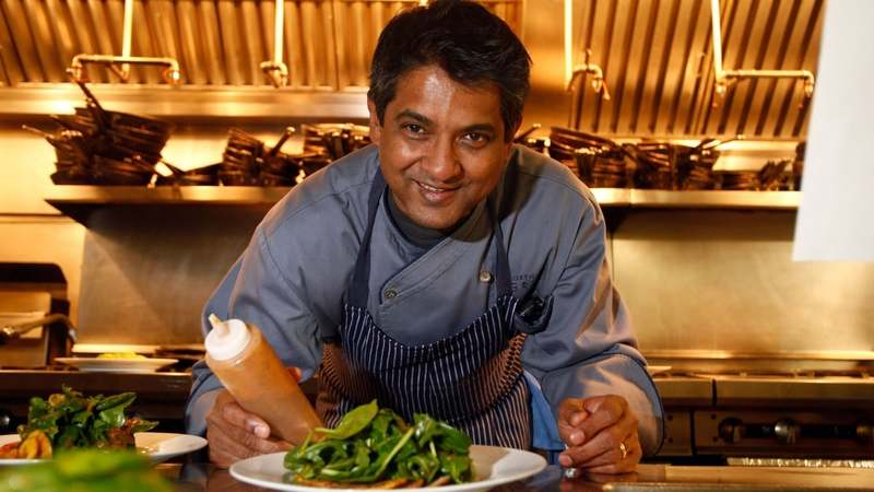 The Top Chef Masters winner was known for melding flavours and spices of his homeland with western techniques.
