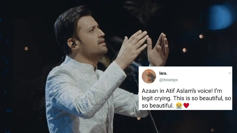 Atif Aslam wins hearts with his recitation of Azaan