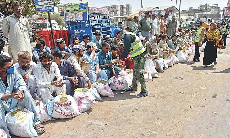 Chinese firm starts ration distribution in Chagai