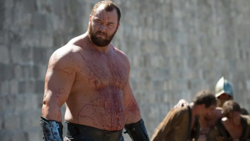 Icelandic actor and strongman Hafthor Bjornsson set a world record for the deadlift when he lifted 501 kg