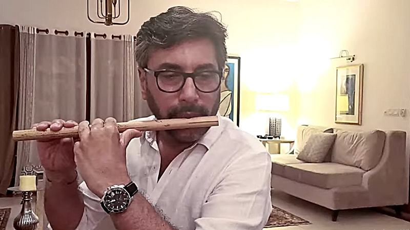 Adnan Siddiqui lends his amazing flute skills for the track