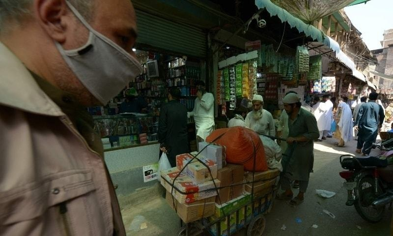 Major Peshawar hospital refusing new virus patients after reaching full capacity