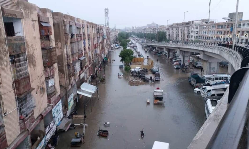 Third monsoon spell brings little support for Karachiites – Pakistan