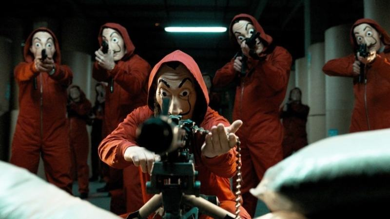 Netflix confirms return of Money Heist for a fifth and final season