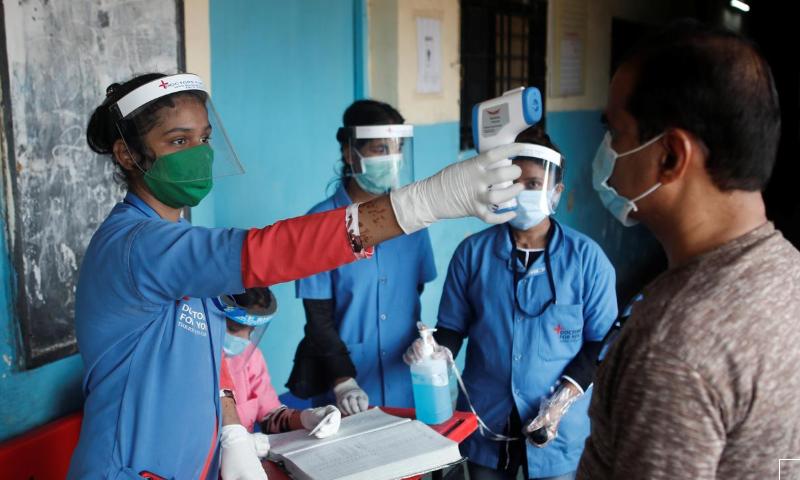 Indian temple stories big coronavirus outbreak as circumstances surge – World