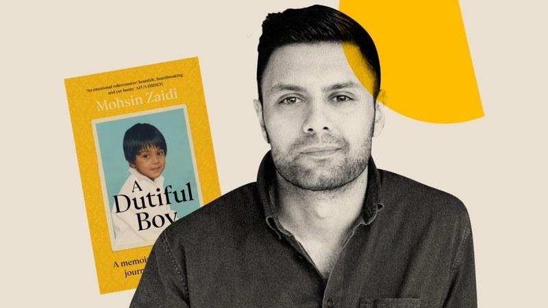 In his new memoir A Dutiful Boy, Zaidi tells the story of growing up gay in a devout Shia Muslim family in East London. —Photo courtesy: Bustle
