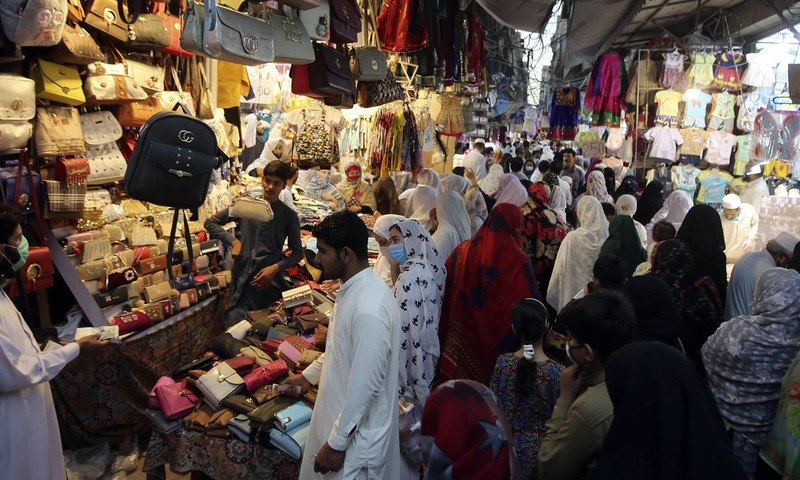 Wearing face mask made mandatory as second wave of Covid-19 sweeps across Pakistan