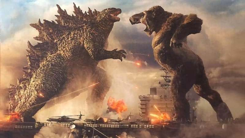 Godzilla vs Kong will stream the same day it comes out!