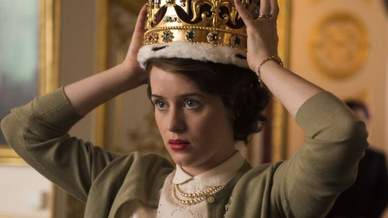 A still from The Crown.